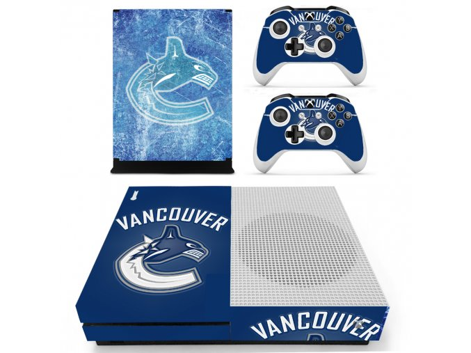 Xbox One S Polep Skin Vancouver Canucks