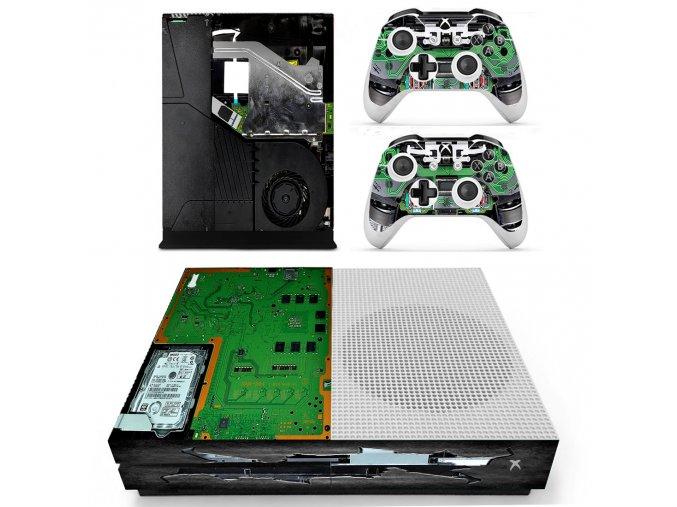 Xbox One S Polep Skin Hardware