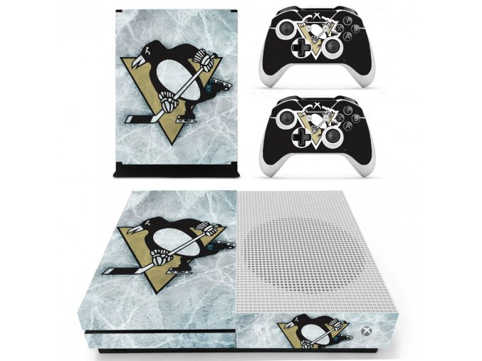 Xbox One S Polep Skin NHL - Pittsburgh Penguins