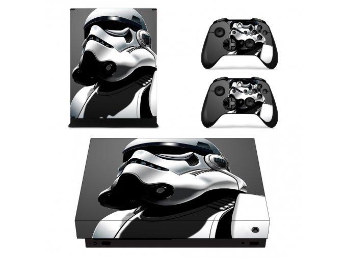 Xbox One X Polep Skin Star Wars