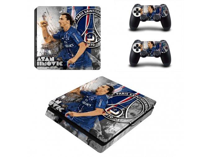 PS4 Slim Polep Skin Zlatan Ibrahimović
