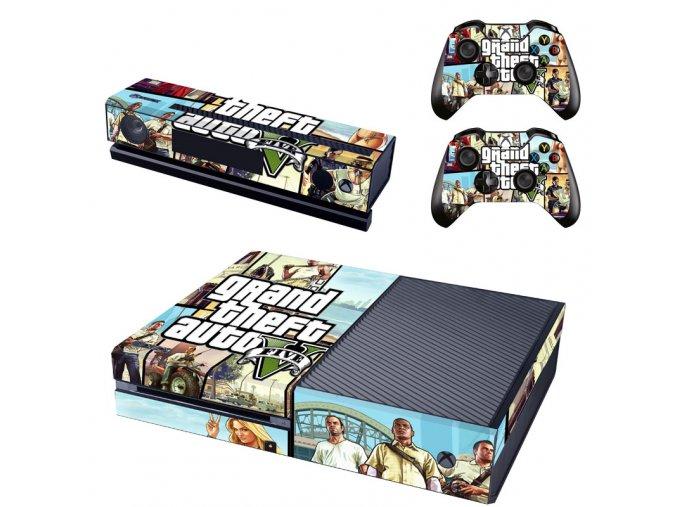 Xbox One Polep Skin GTA 5