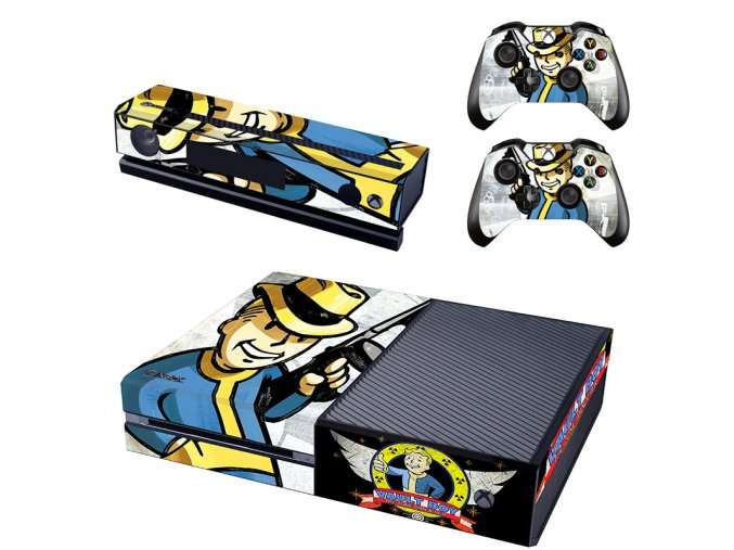 Xbox One Polep Skin Fallout