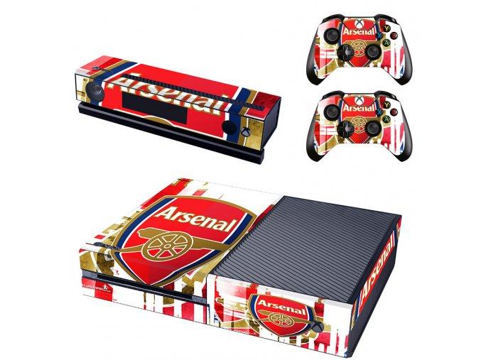 Xbox One Polep Skin Arsenal FC