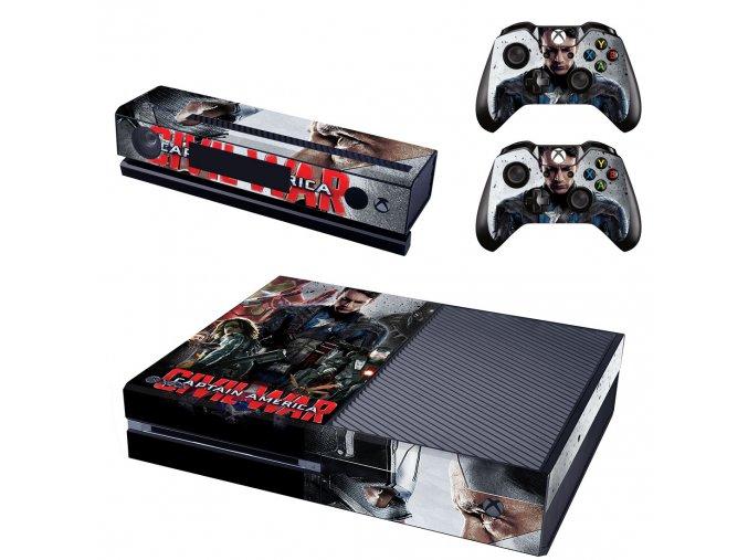 Xbox One Polep Skin Avengers Civil War