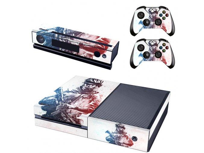 Xbox One Polep Skin Battlefield