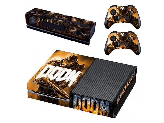 Xbox One Polep Skin DOOM