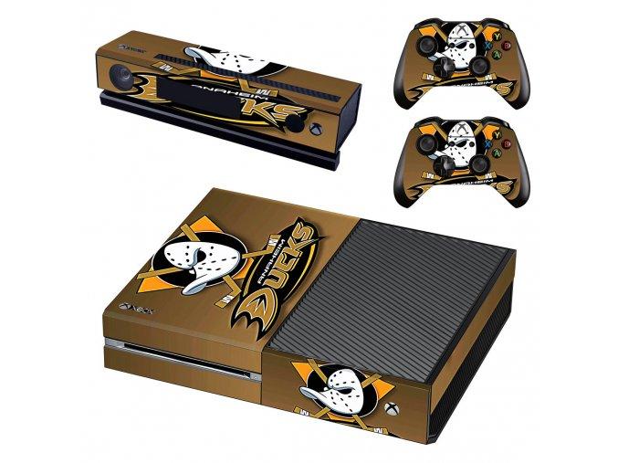 Xbox One Polep Skin NHL - Anaheim Ducks