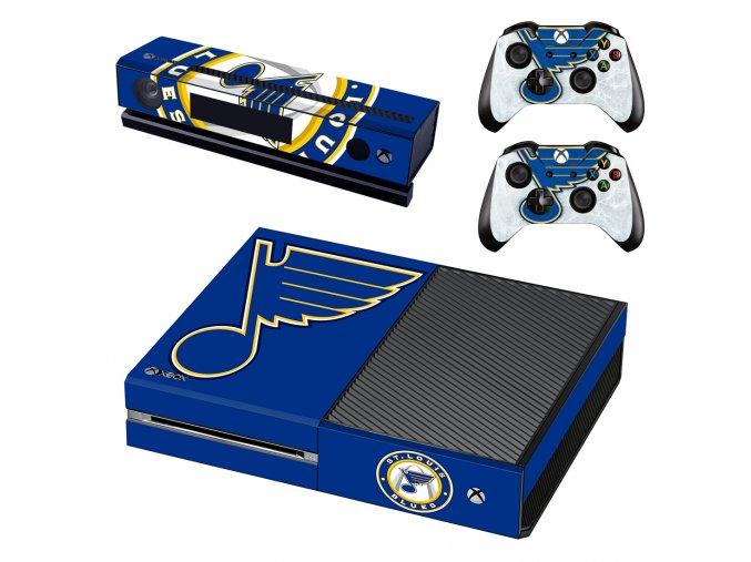 Xbox One Polep Skin NHL - St. Louis Blues