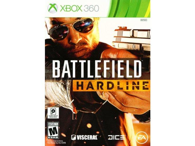 Xbox 360 Battlefield Hardline CZ