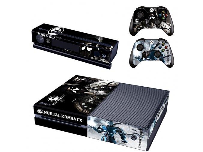 Xbox One Polep Skin Mortal Kombat X
