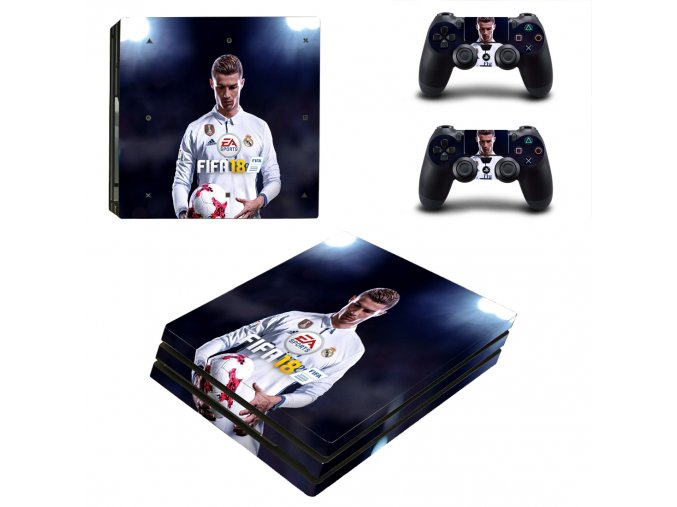 PS4 Pro Polep Skin FIFA 18