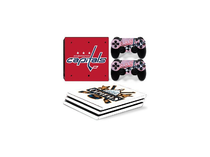 PS4 Pro Polep Skin NHL - Washington Capitals