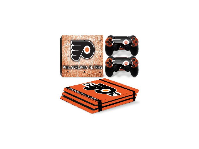 PS4 Pro Polep Skin NHL - Philadelphia Flyers