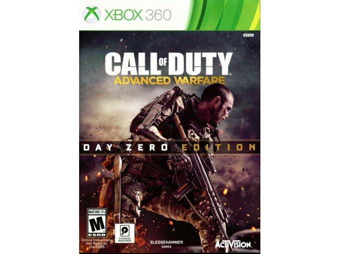 310966 call of duty advanced warfare day zero edition xbox 360 front cover