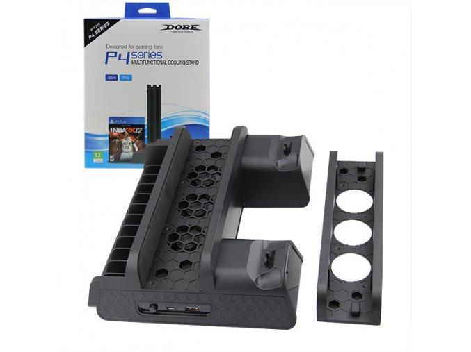 PS4 Multifunkční vertikální stojan
