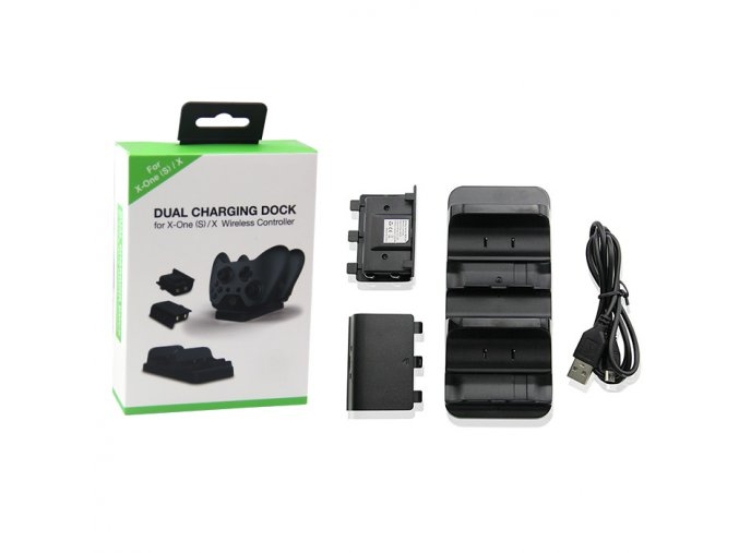 Xbox One Duální nabíjecí stanice + baterie