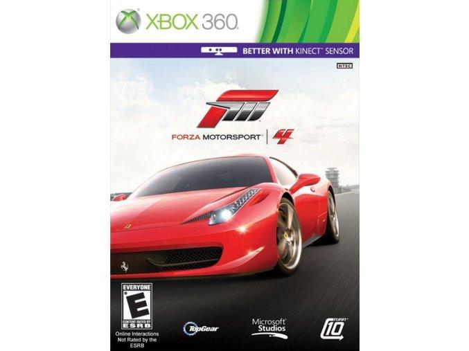 Xbox 360 Forza Motorsport 4 CZ