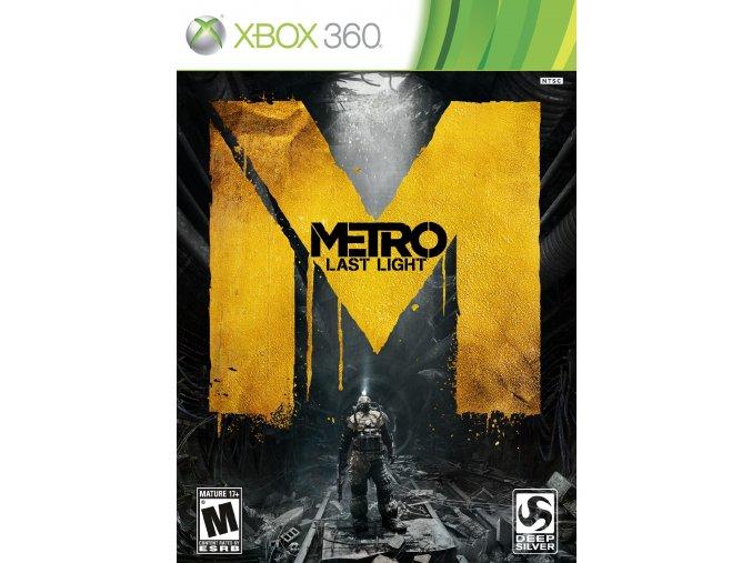 Xbox 360 Metro: Last Light CZ (Limited Edition)