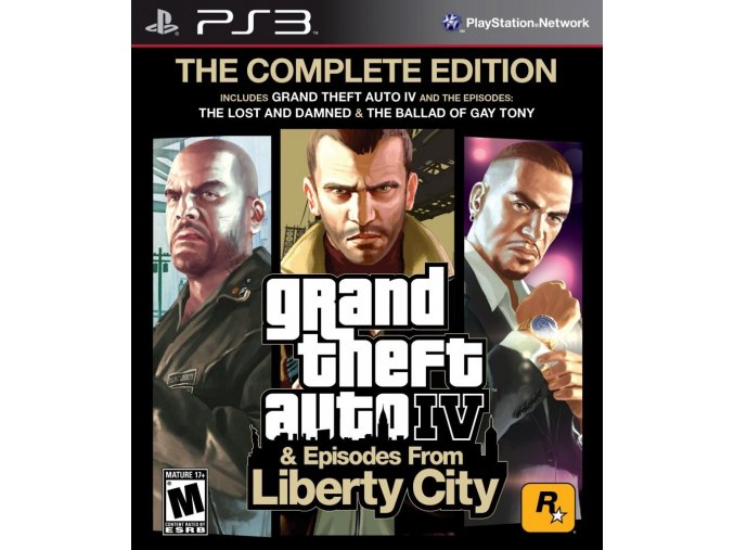 PS3 Grand Theft Auto IV: The Complete Edition