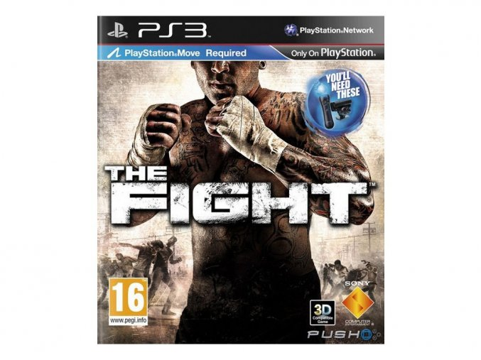 PS3 The Fight (Move)