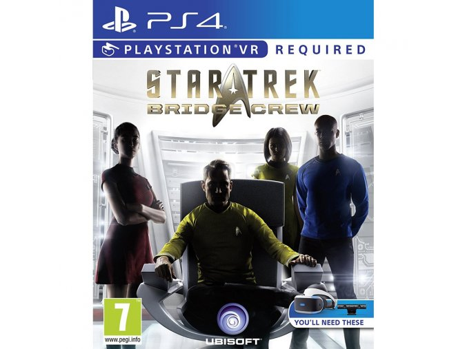 PS4 Star Trek: Bridge Crew VR