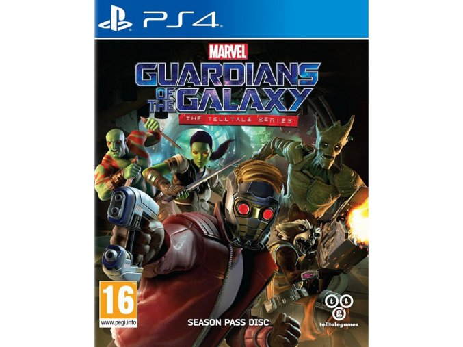 PS4 Guardians of the Galaxy: The Telltale Series