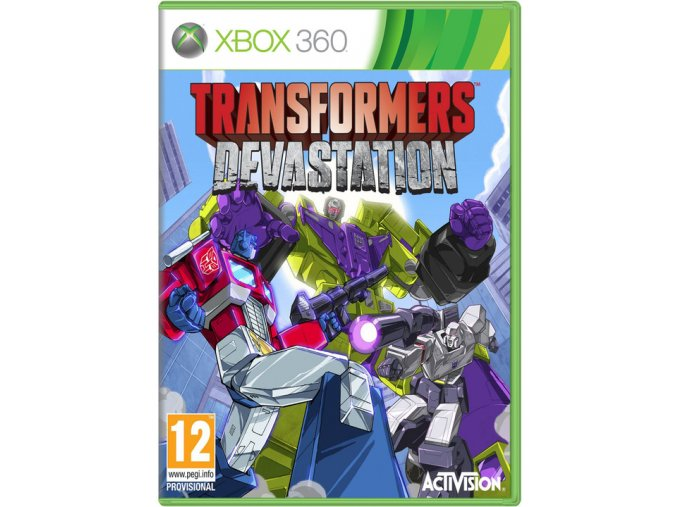 Xbox 360 Transformers Devastation