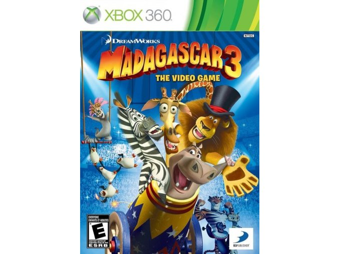 Xbox 360 Madagascar 3: Europes Most Wanted