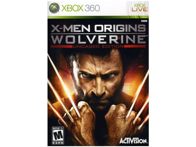 Xbox 360 X-men Origins: Wolverine