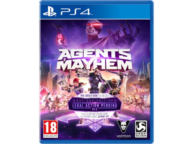 PS4 Agents of Mayhem Day One Edition