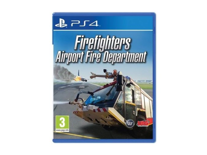 Playstation Firefighters Airport Fire Department