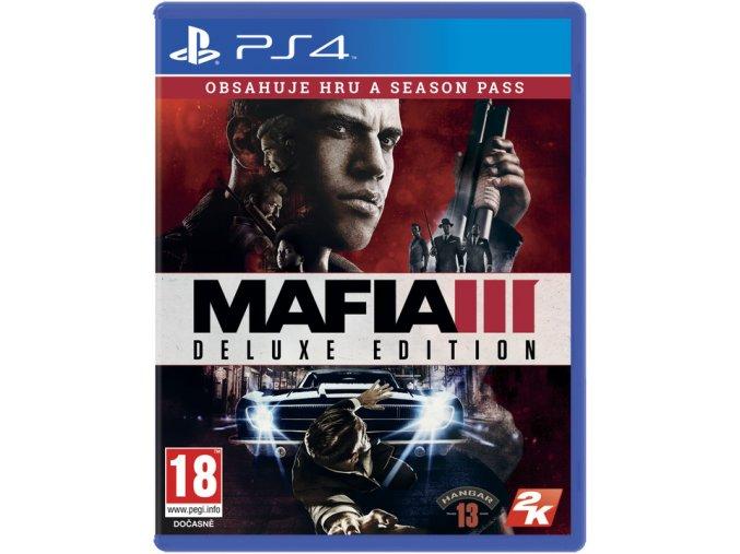 PS4 Mafia 3 (Deluxe Edition) CZ