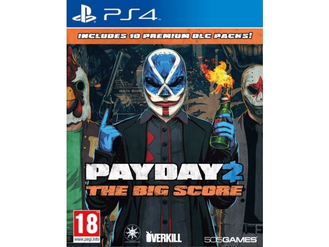 Playstation 4 Payday 2 (The Big Score)