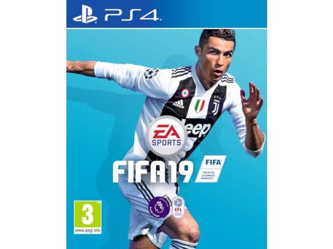 PS4 FIFA 19 CZ