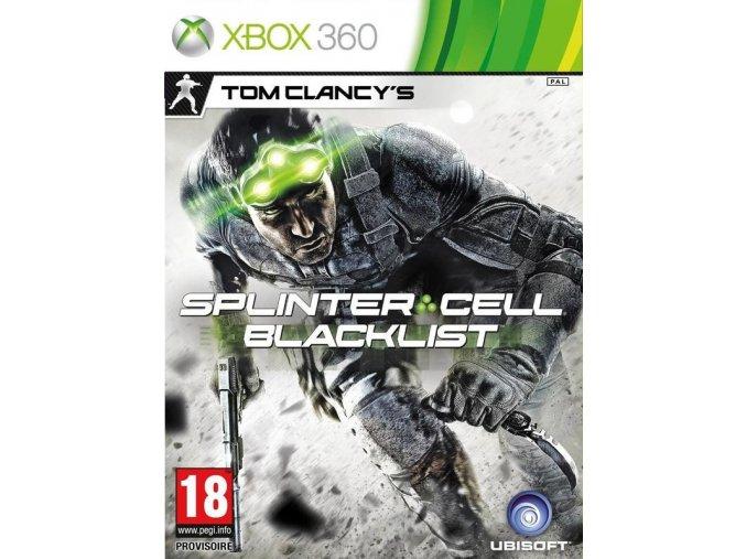 Xbox 360 Tom Clancy's Splinter Cell: Blacklist
