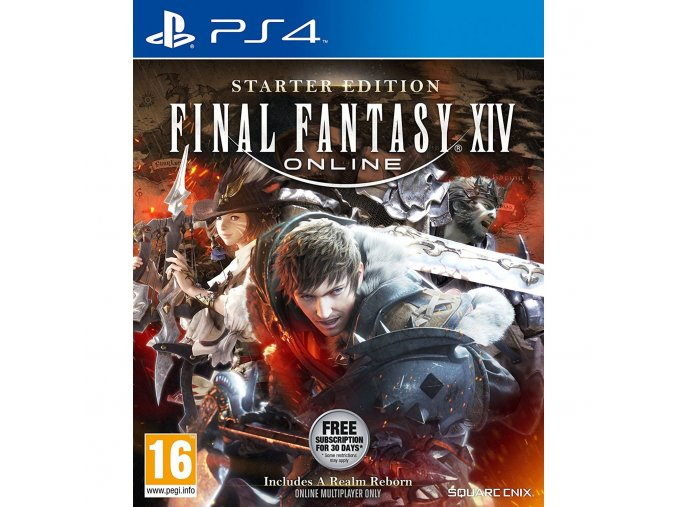 PS4 Final Fantasy XIV: Started Edition