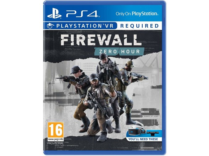 PS4 Firewall: Zero Hour
