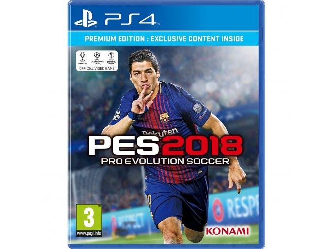 PS4 Pro Evolution Soccer 2018 (Premium Edition)