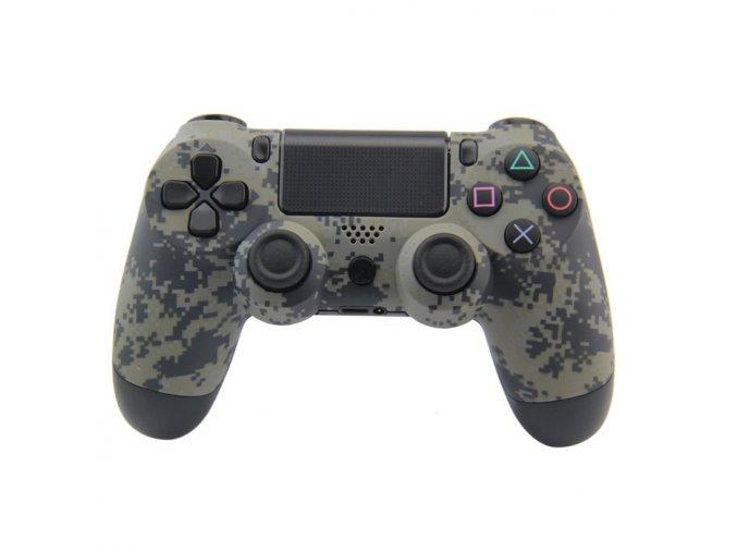 PS4 Bezdrátový ovladač - Kamufláž