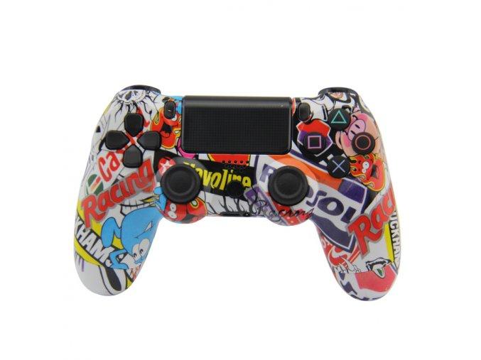 PS4 Bezdrátový ovladač - B-style