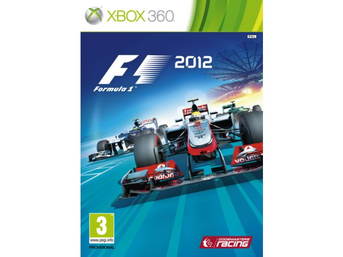 Xbox 360 F1 2012