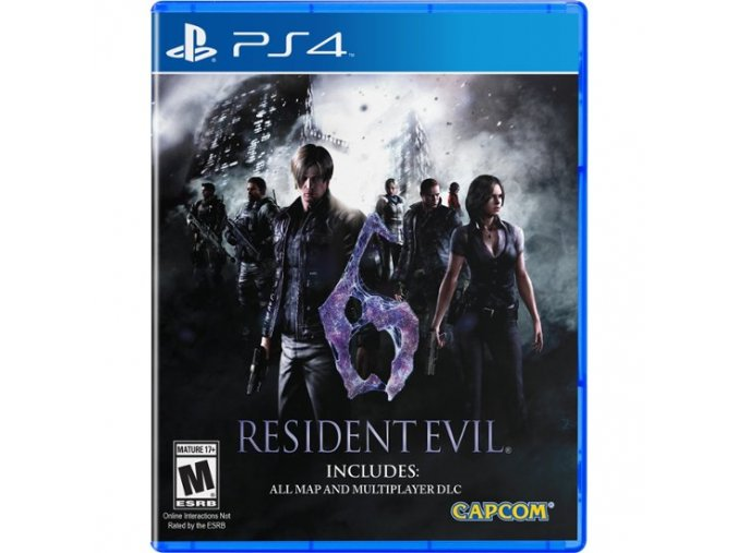 PS4 Resident Evil 6 HD