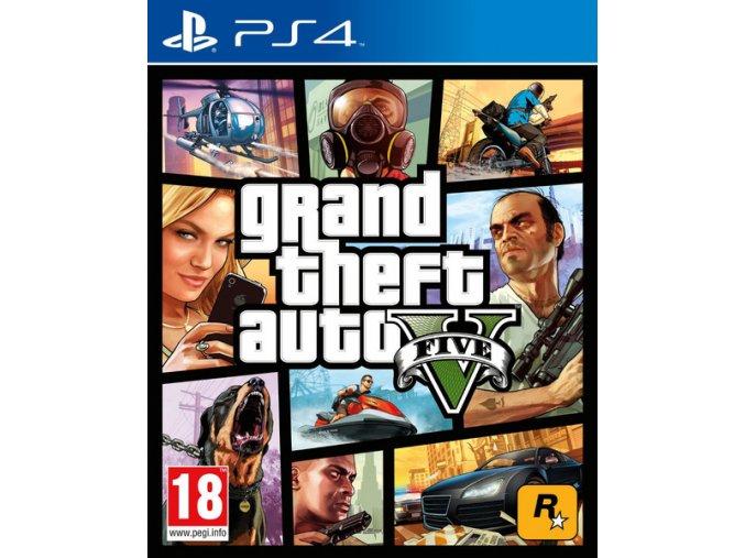 PS4 Grand Theft Auto V GTA 5