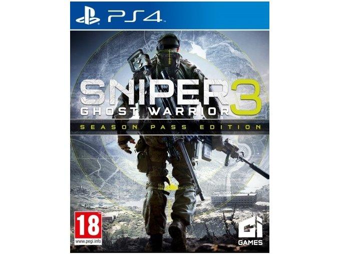 PS4 Sniper Ghost Warrior (Season Pass Edition)