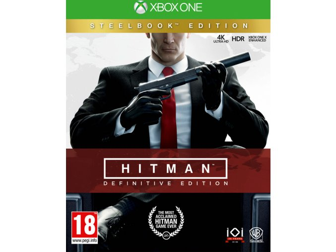 Xbox One Hitman Definitive Steelbook Edition