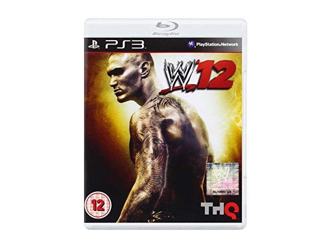 PS3 WWE 12