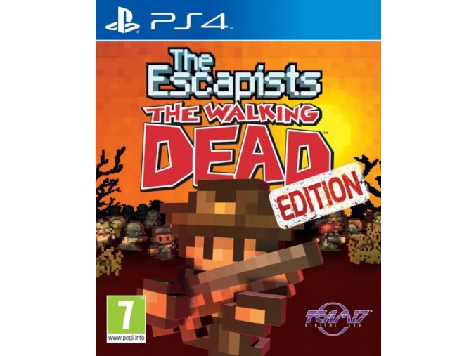 PS4 The Escapists: Walking Dead Edition