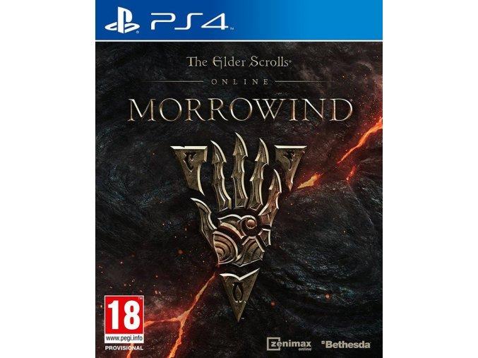 PS4 The Elder Scrolls Online: Morrowind