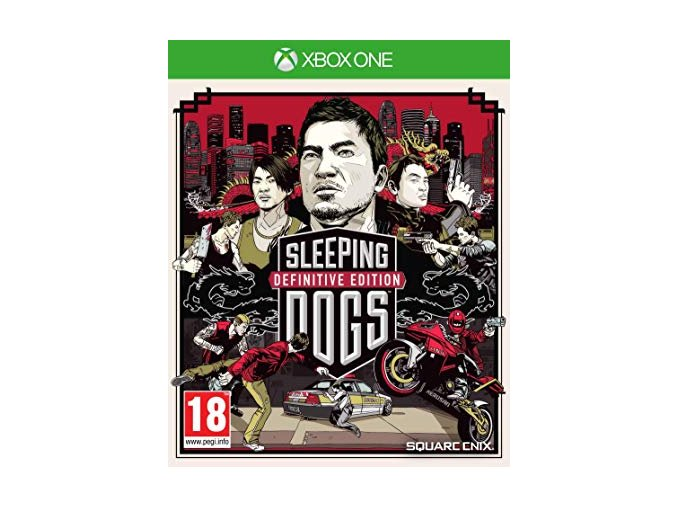 Xbox One Sleeping Dogs (Definitive edition)